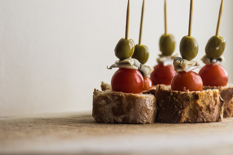 Pintxos Food from the Basque Country