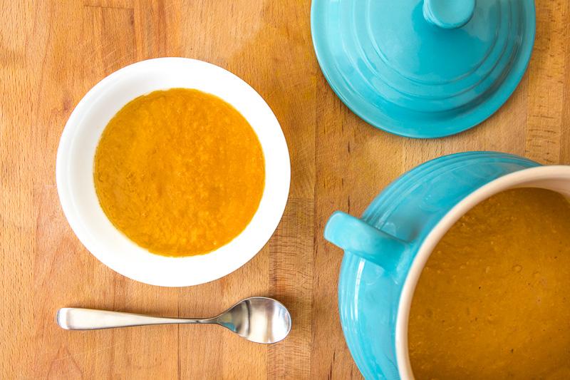 ButternutSquash & Sweet Potato Soup