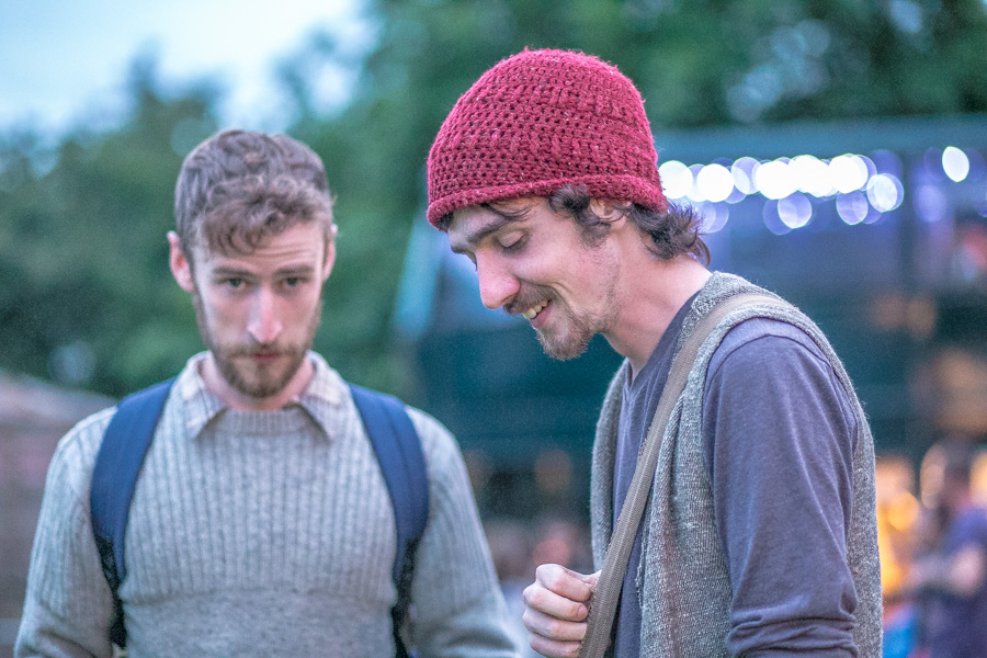 Brían & Diarmuid Mac Gloinn, Ye Vagabonds in Knockanstockan Music Festival, Ballyknockan, Ireland 2016.
