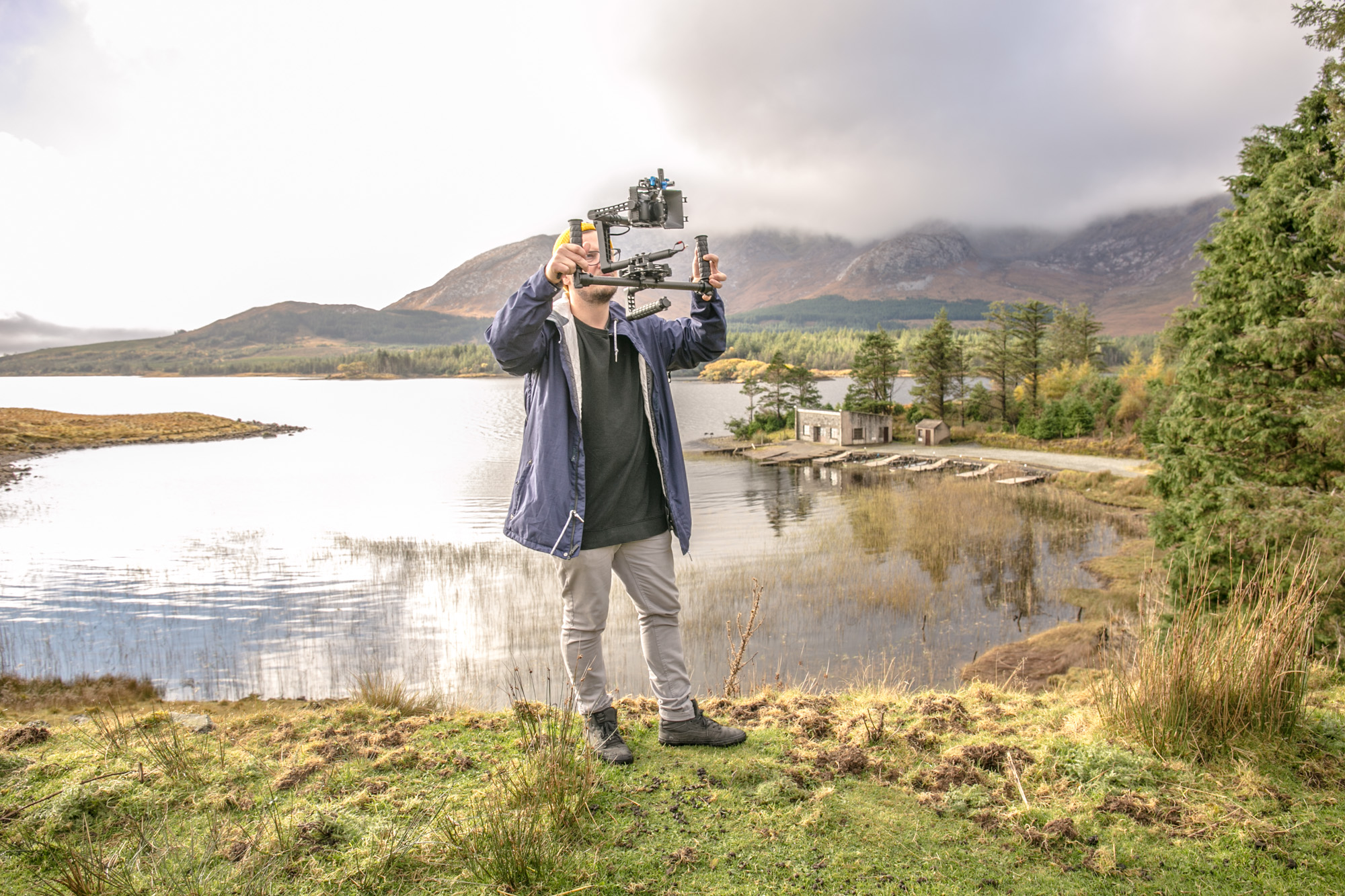 Tomek Ciezki, Filming In Connemara for Food on the Edge 2016