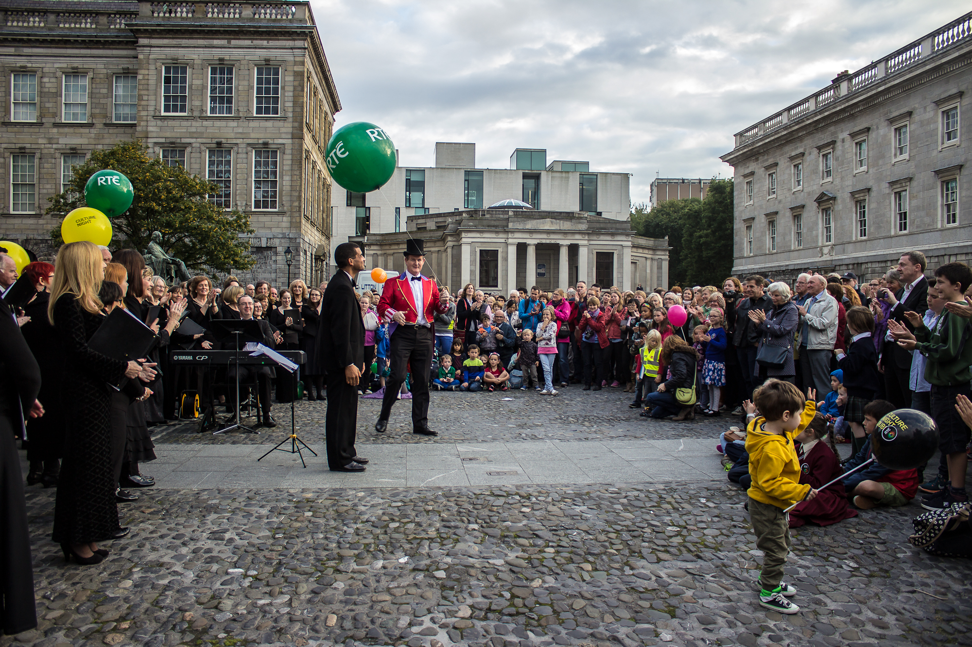 Culture Night, Trinity College, September 2015