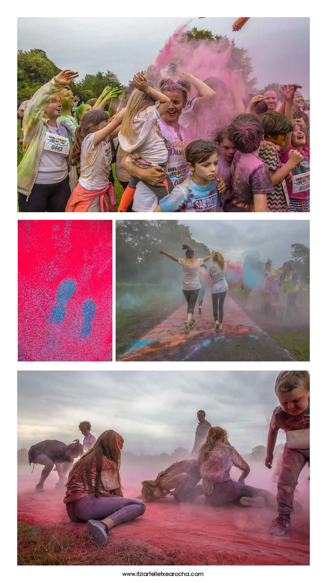 Colour Run Donabate 2017