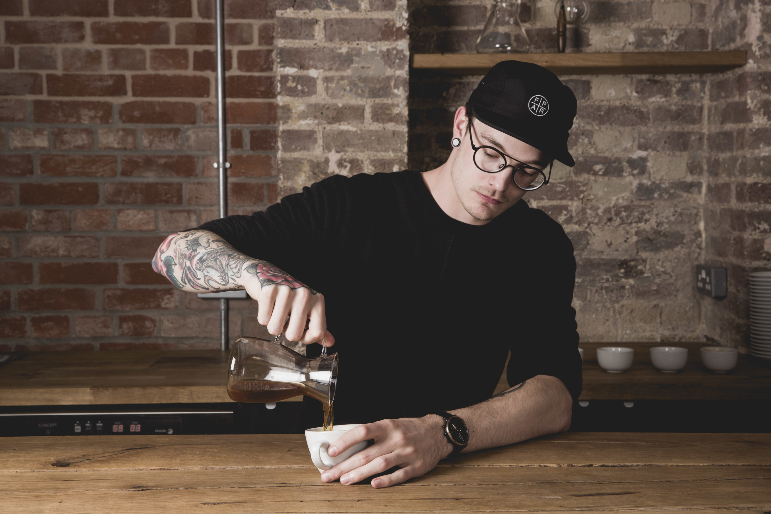 """James Wise (Assembly Coffee) <br> """"Learning isn't about answering the questions. It's about motivating people to ask them. """""""