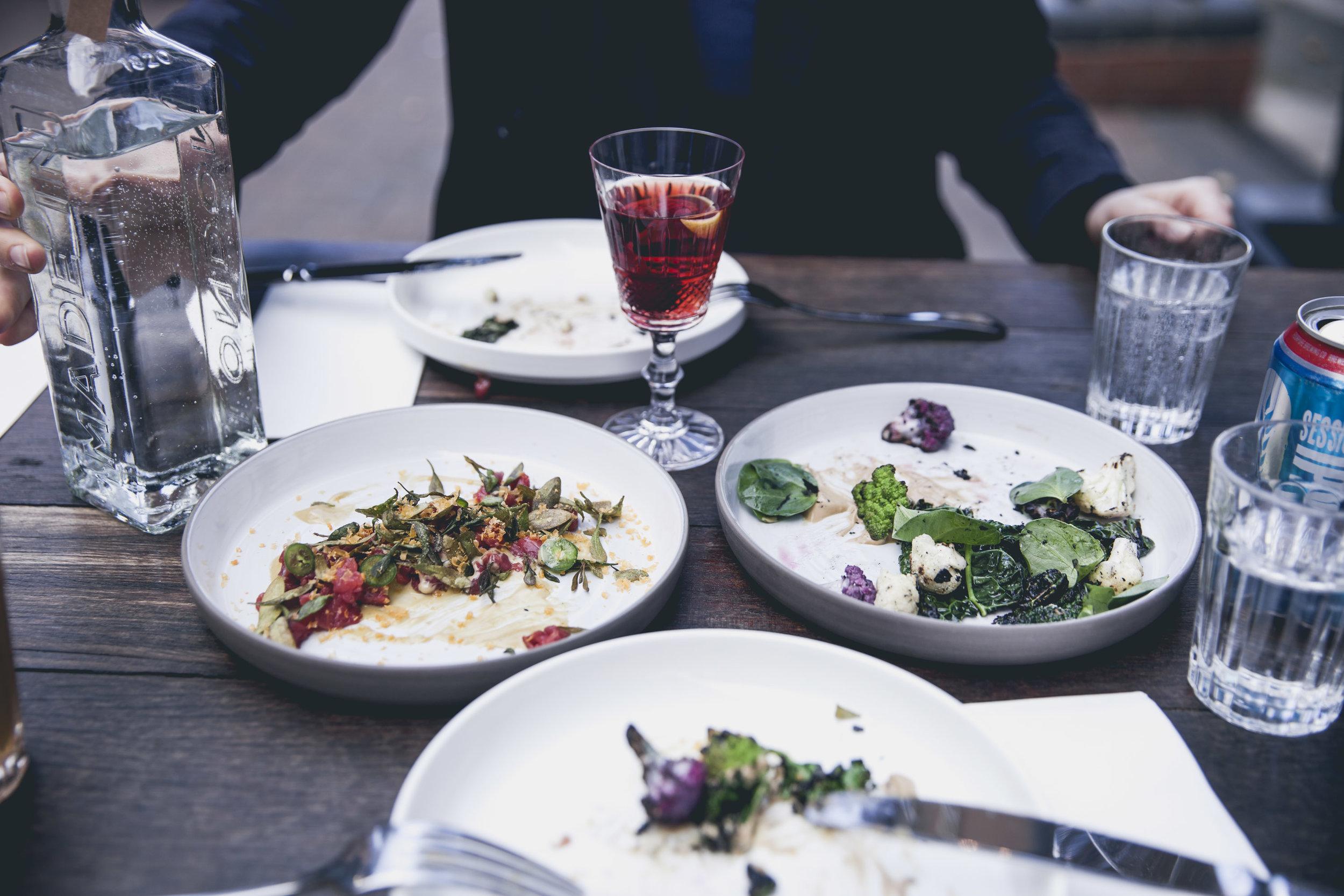 Food at Sager + Wilde — Photo: Charlie McKay
