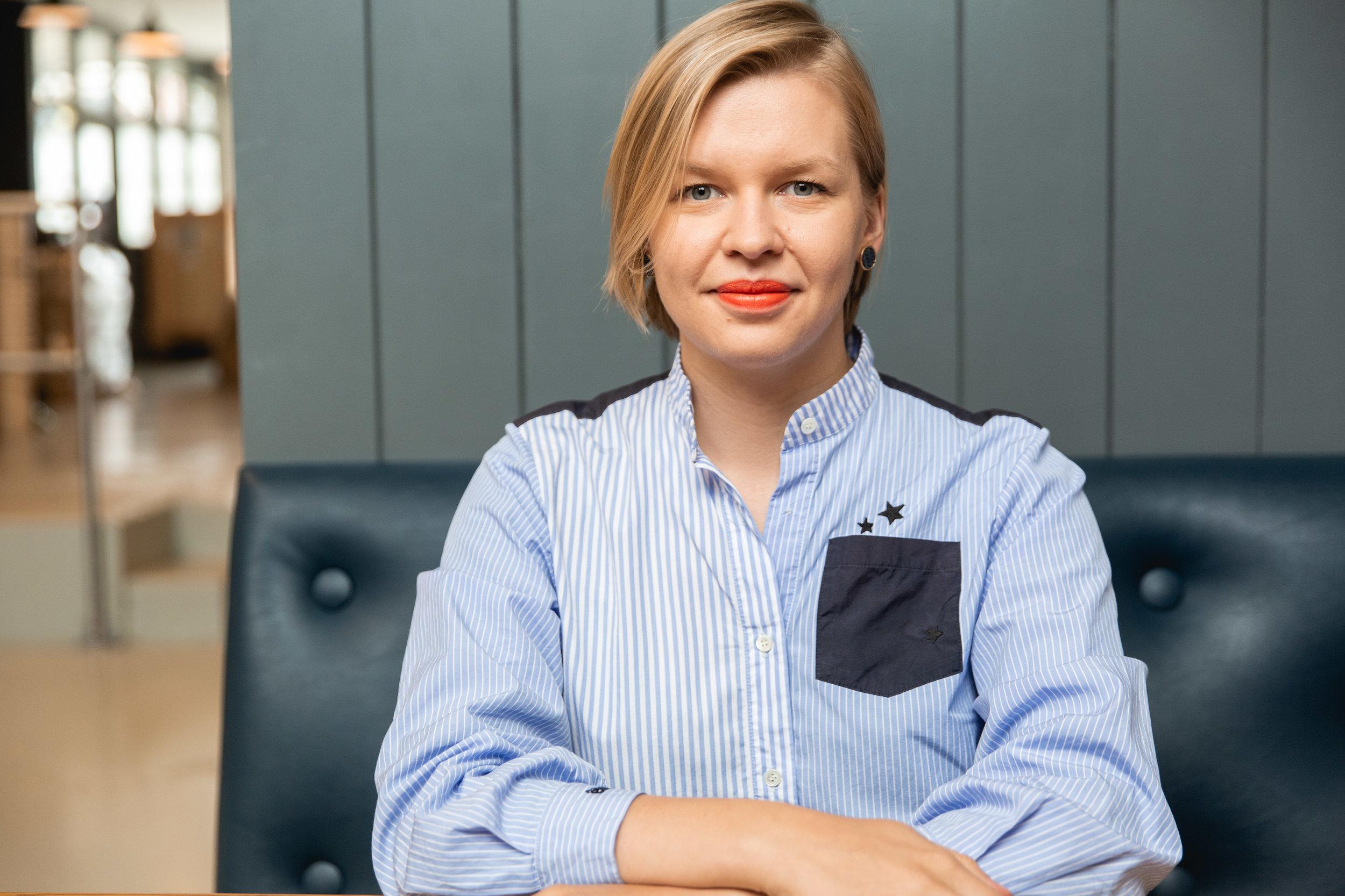 Ruta Sasnauskaite — Paris and EU Business Development Manager