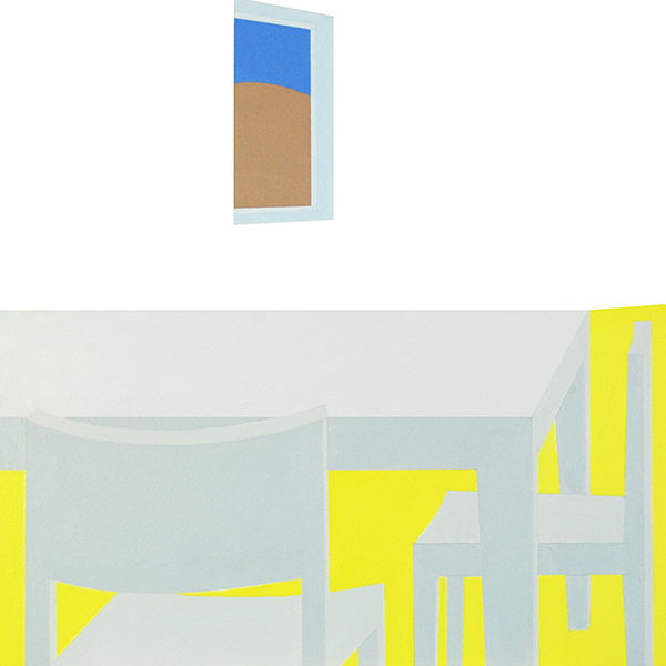 Scene 24   Acrylic on canvas 5 x 5 feet $7500 [SALE price$3250]