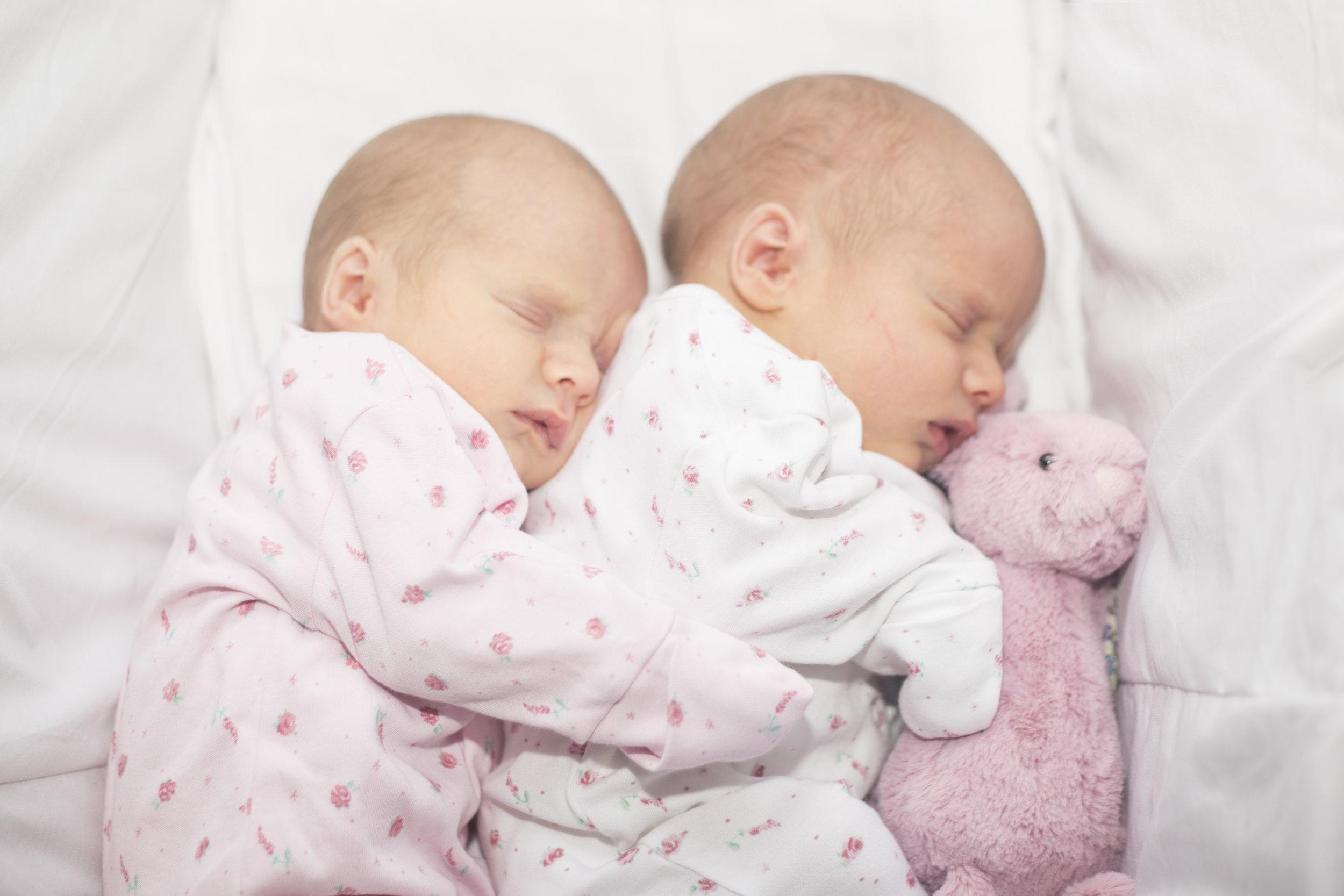 Emilia and Erin Newborn Shoot