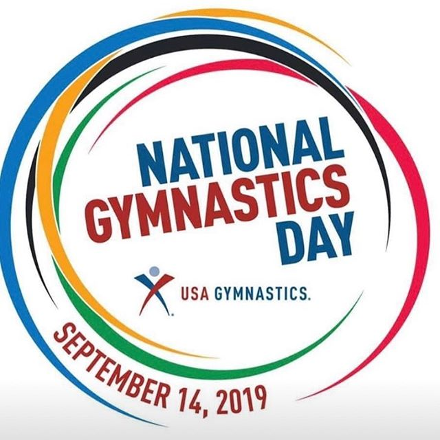 Happy National Gymnastics Day Tag us in your favorite gymnastics picture #greatestsportintheworld
