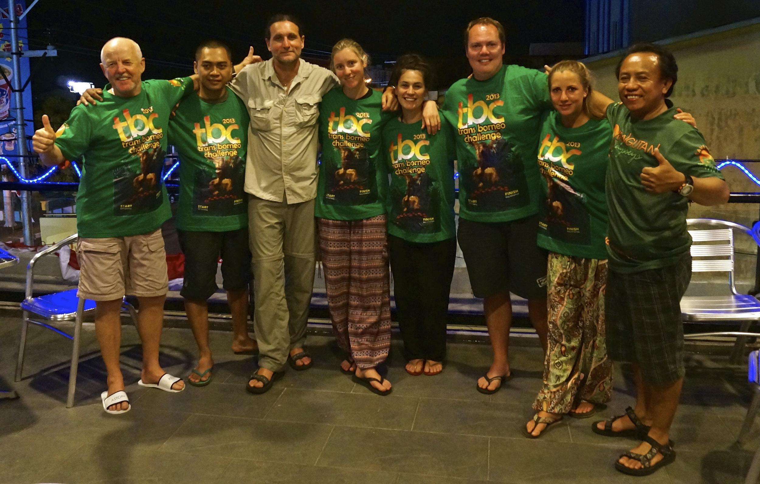 Team Trans Borneo Challenge