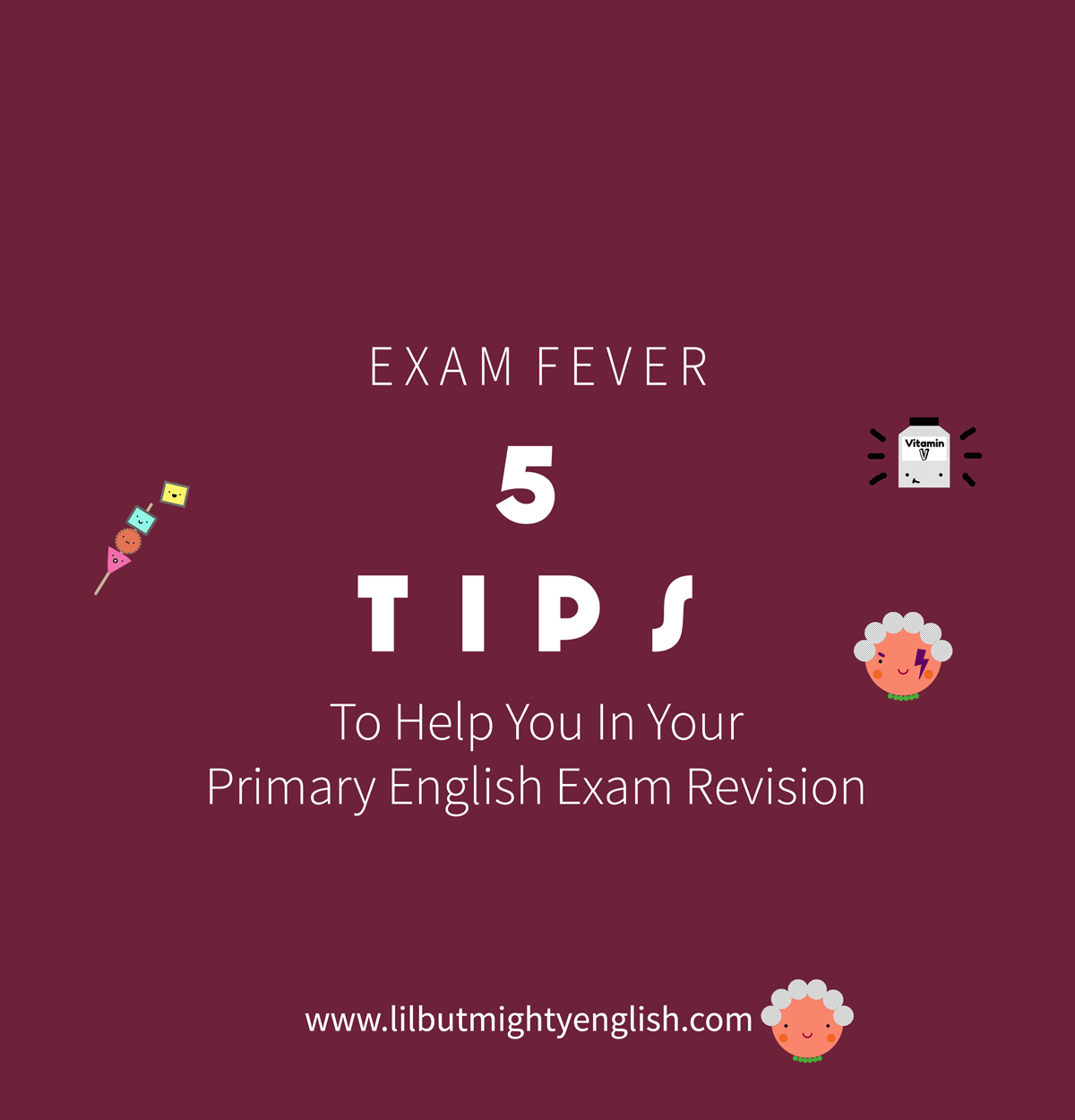 5 Tips to help with your Primary English Exam Revision