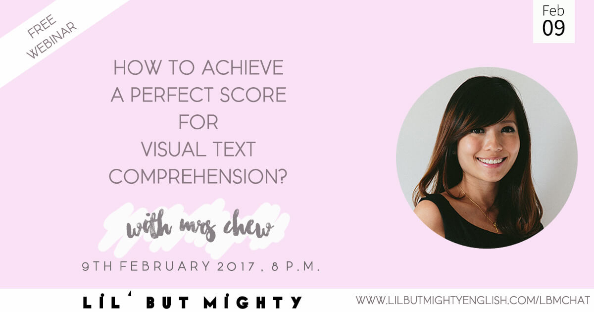 How to achieve a perfect score for Visual Text Comprehension!