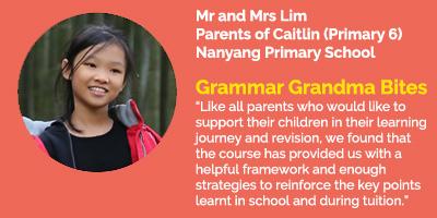 Grammar Grandma Bites Testimonial