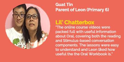 Lil' Chatterbox Testimonial