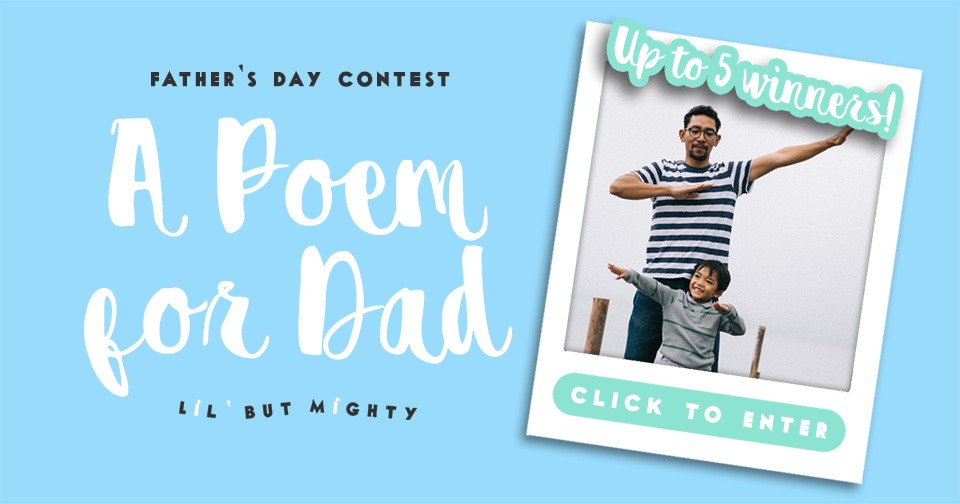 A Poem for Dad (Father's Day Contest)