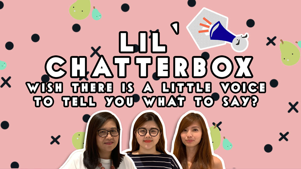 The Lil' Chatterbox Course - If you are still looking for a way to do better for your oral and need a structured approach to craft your answers in the stimulus-based conversation section, we are happy to share with you that our online oral course,