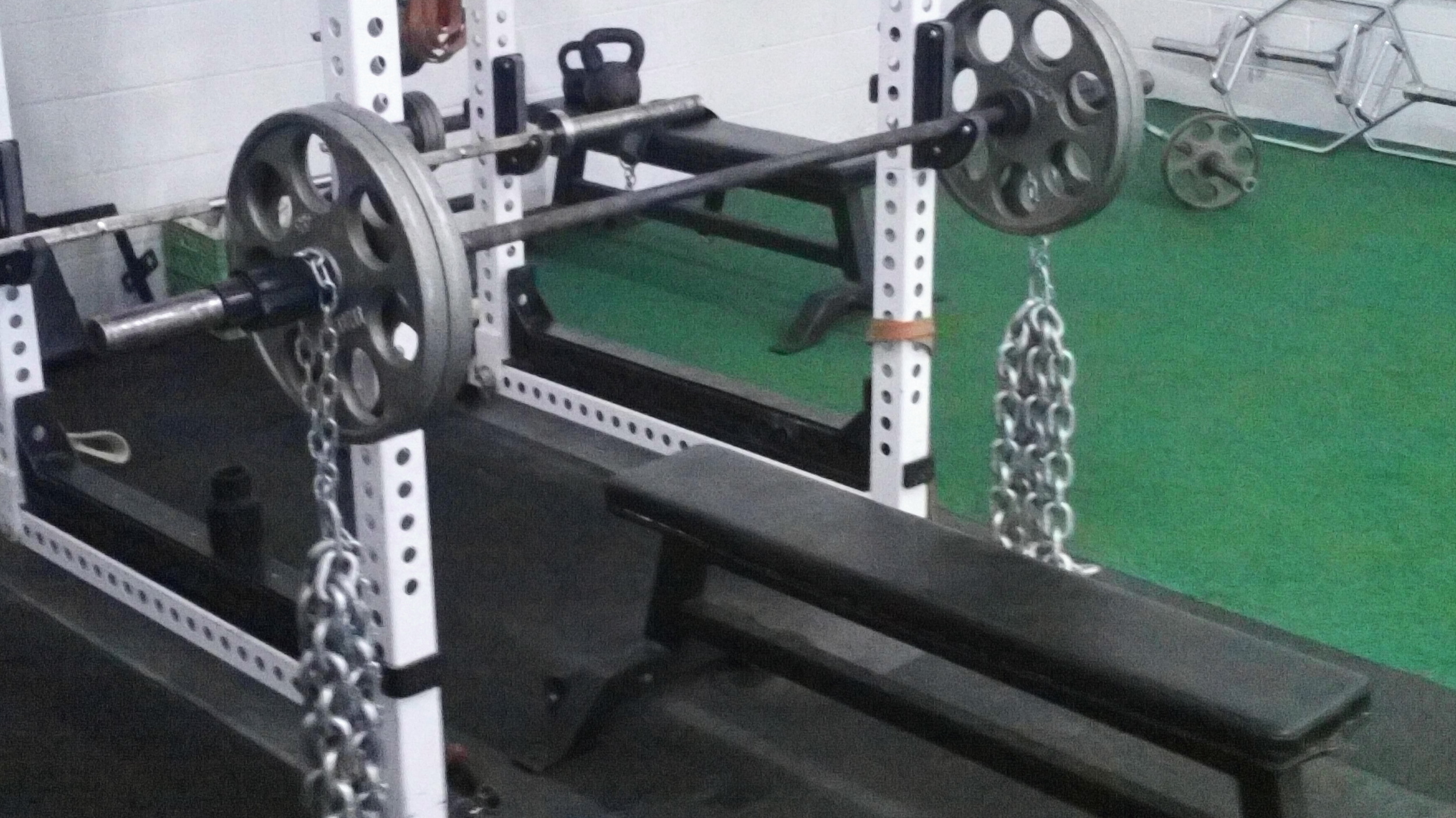 SAPT bench press chains
