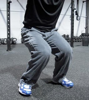 Not what I'm talking about! This is bad squat IR and shows weakness and lack of control. An injury waiting to happen.
