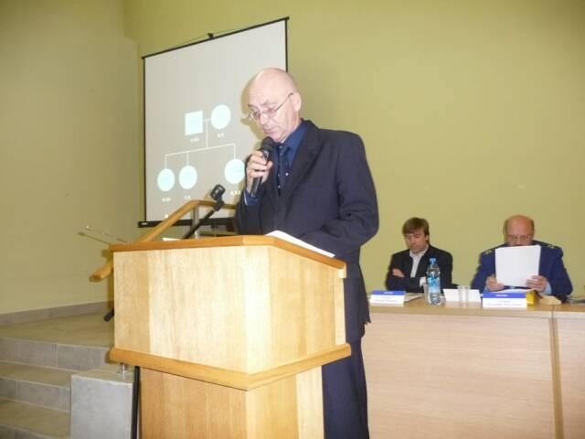Dr. Nikolai Ivanovich Nevolin 05 December 2008, Ekaterinburg, Russia