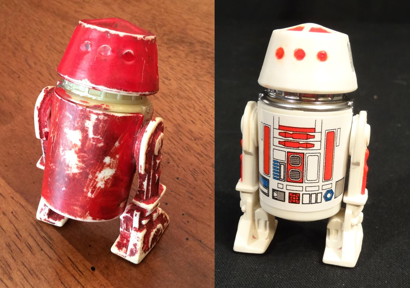 Before and After - This little droid no longer has a bad motivator!!