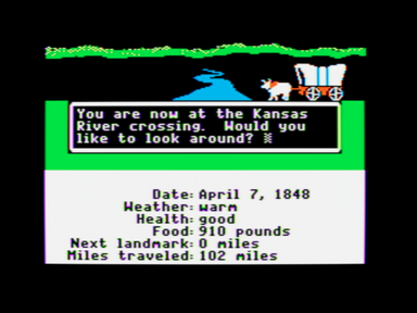 Oregon Trail - so many of us played it at school.