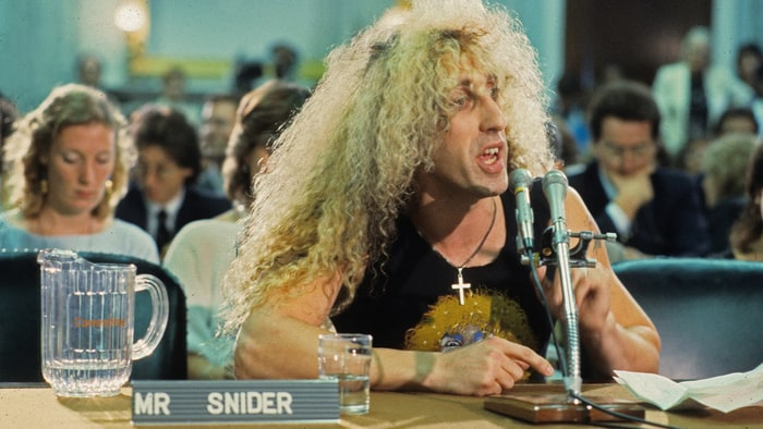 Dee Snider, giving our buddy Al Gore what for.