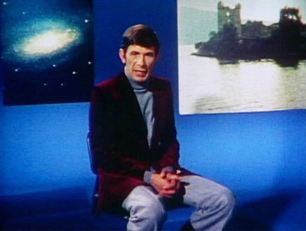 Leonard Nimoy, hosting In Search Of…