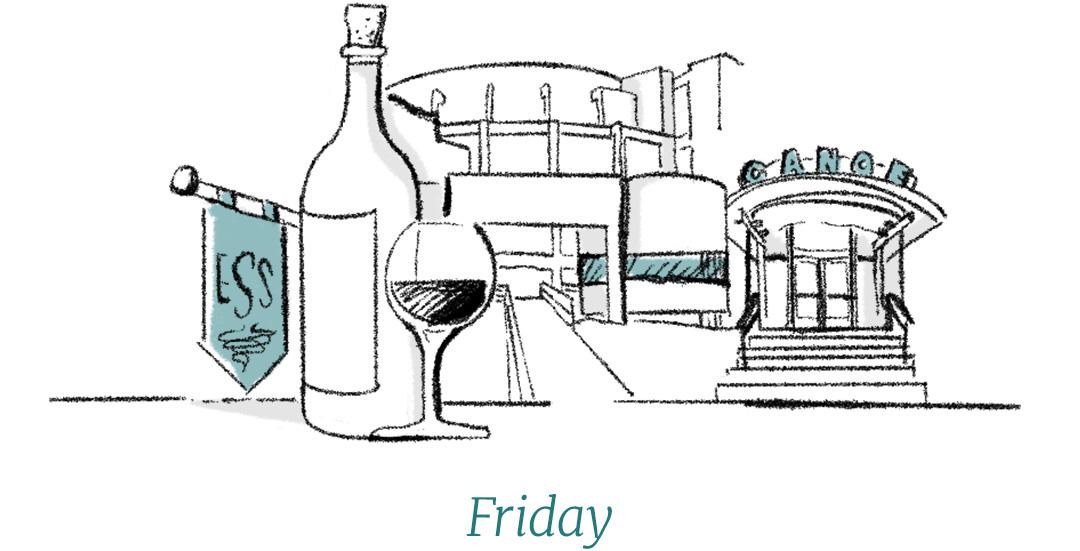 Dixon Rye Guide to Atlanta Friday illustration