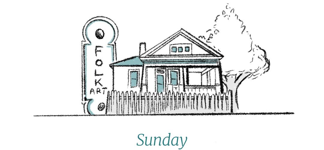 Dixon Rye Guide to Atlanta Sunday illustration