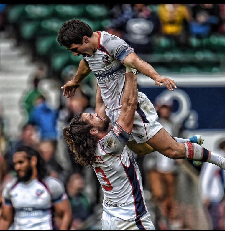The Eagles upon winning the London 7s!