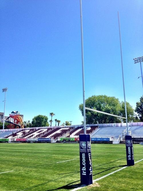 Bonney Field in Sacramento, California.