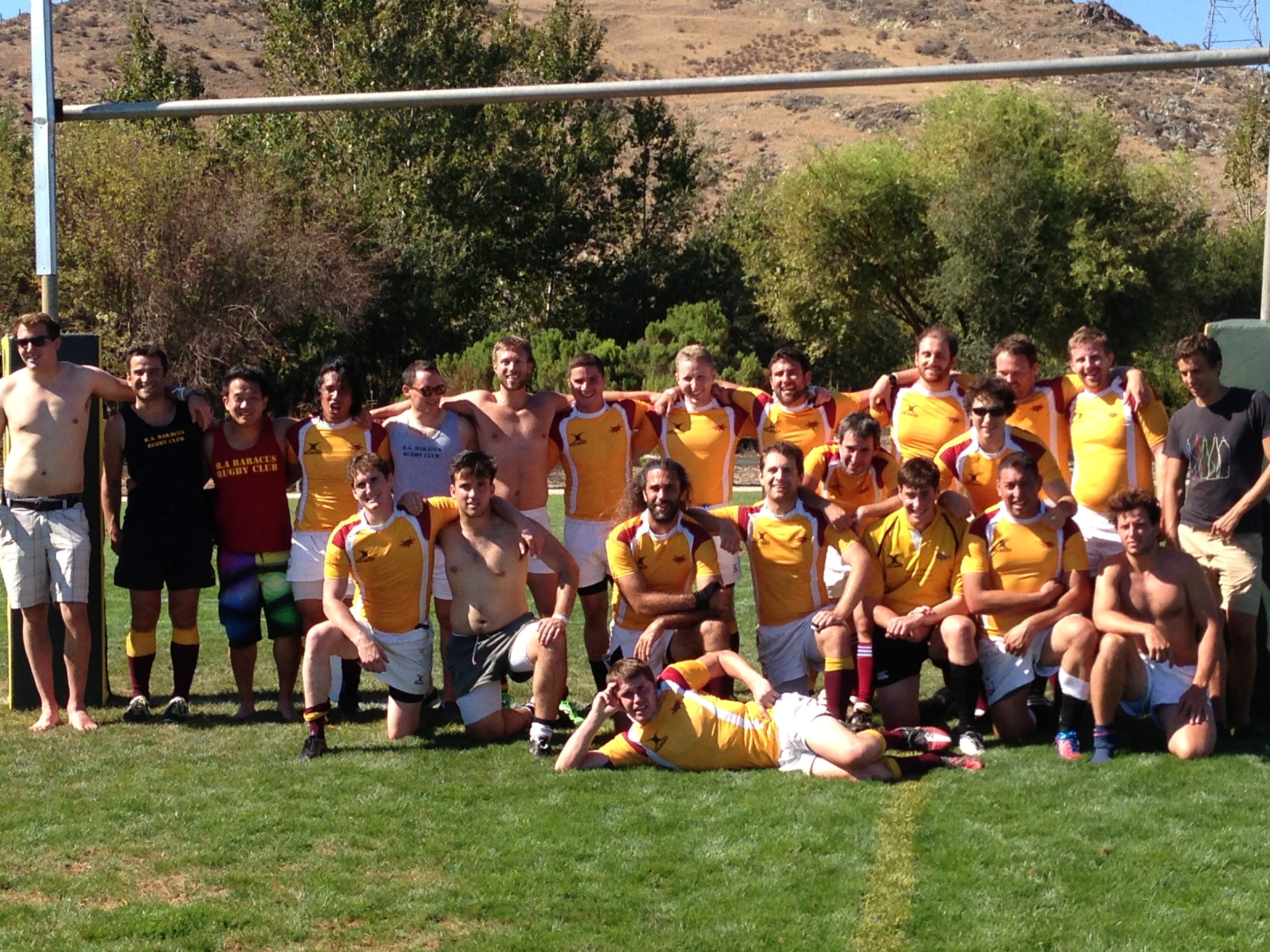 BA Baracus RFC at the Tri-Tip 7s in SLO