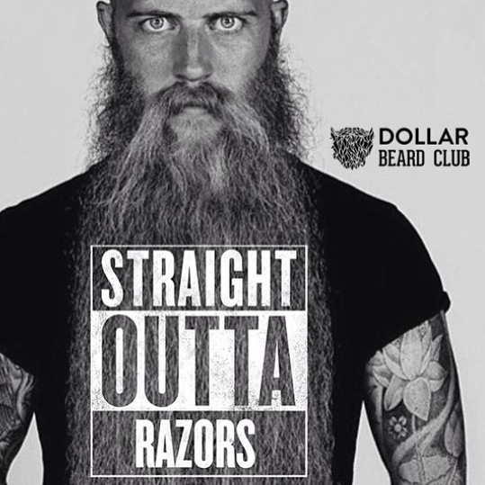 Click on the ad to learn about caring for your beard.
