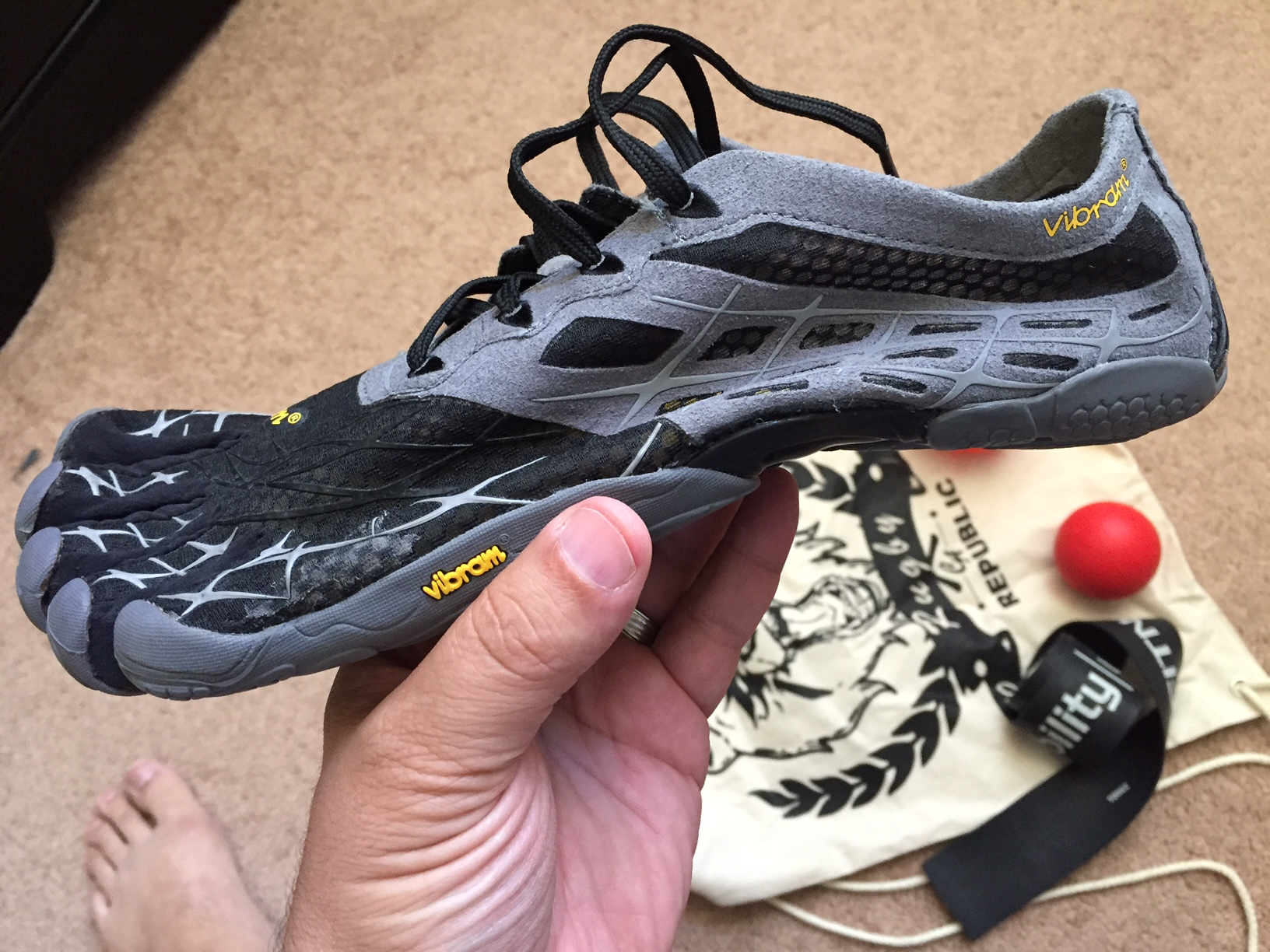 Vibram Five Fingers For Rugby Training