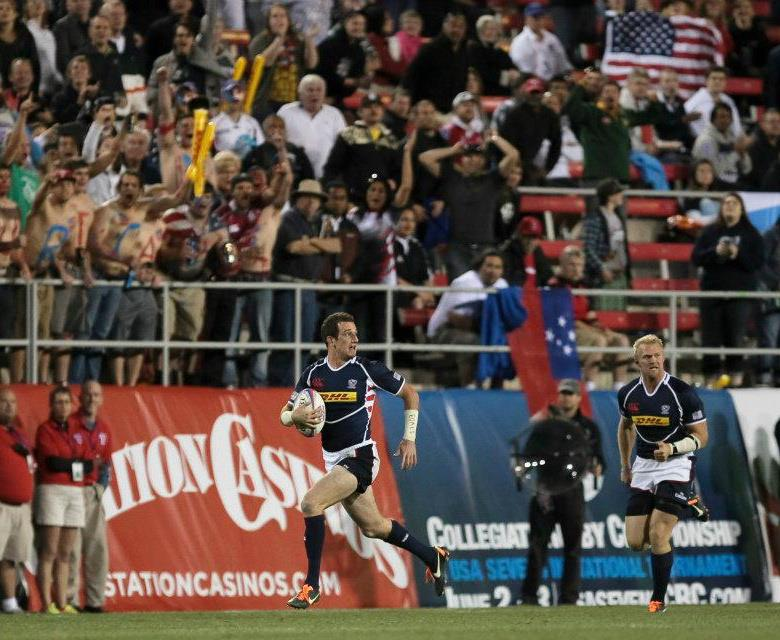 Zack Test, USA Rugby 7s (Photo The Rugby Corner)