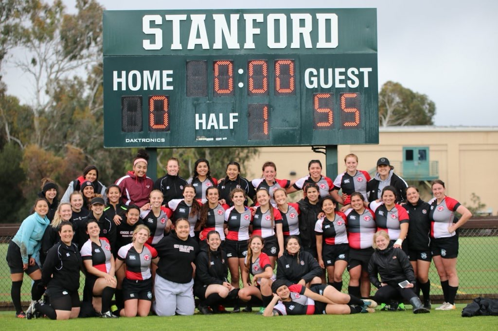 Chico after thier win earlier this year vs Stanford. Photo by J. Kort.