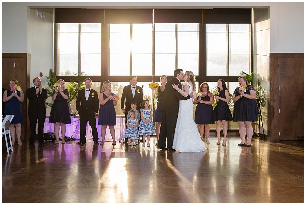 bride and groom announced   Carleen Bright Arboretum, Woodway, Texas   Jason & Melaina Photography