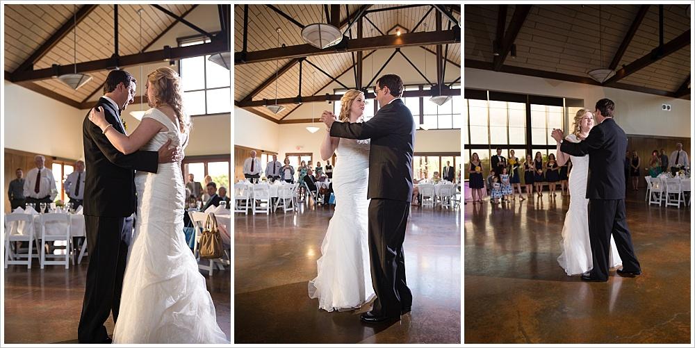 first dance   Carleen Bright Arboretum, Woodway, Texas   Jason & Melaina Photography