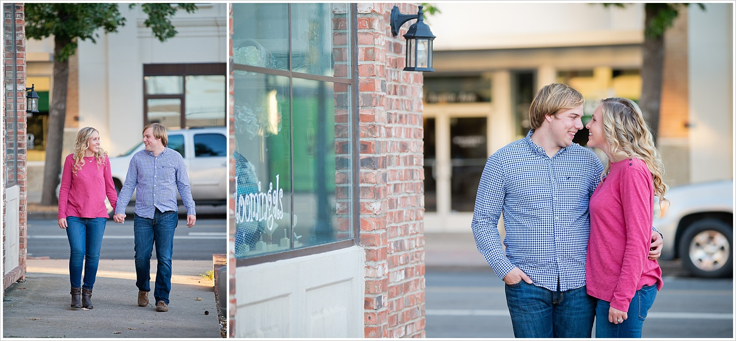Couple portraits downtown | Love Photography in Waco, Texas | Jason & Melaina Photography