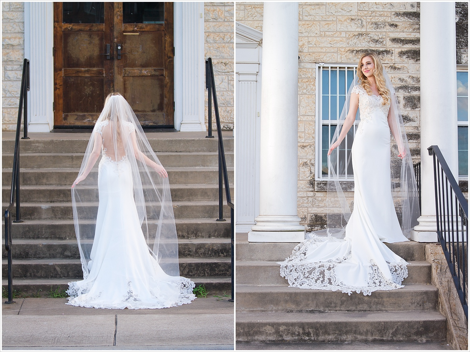 Romantic Styled Bridal Session Rapoport Academy In Waco Texas
