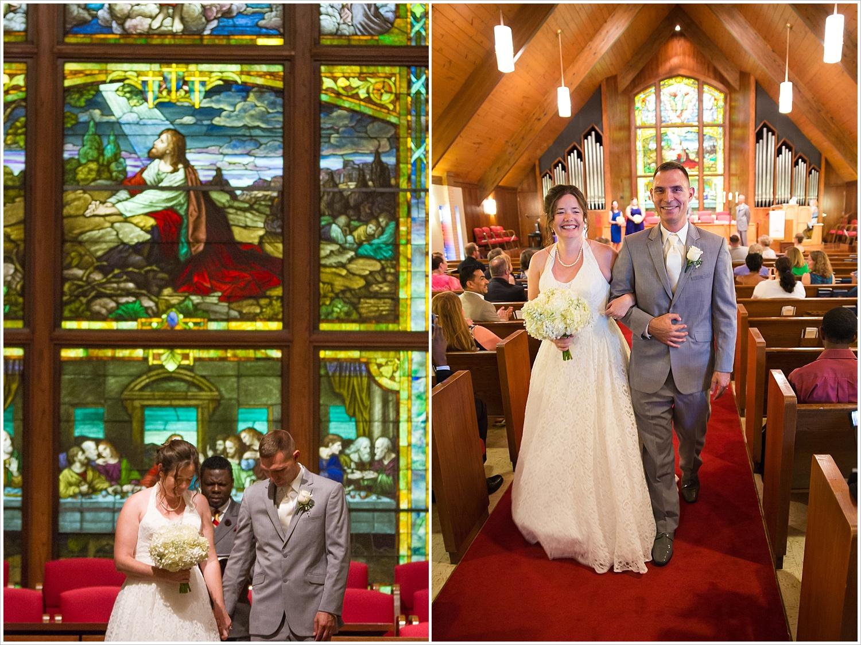 Summer church wedding in the sanctuary of Central Presbyterian Church in Waco/Woodway, TX - Jason & Melaina Photography, www.jasonandmelaina.com