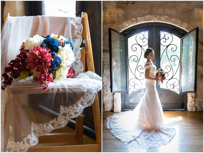 Navy, blush and white bridal bouquet,summer blush and navy wedding at Stone Hall at The Springs in McKinney, Texas, Jason & Melaina Photography, www.jasonandmelaina.com