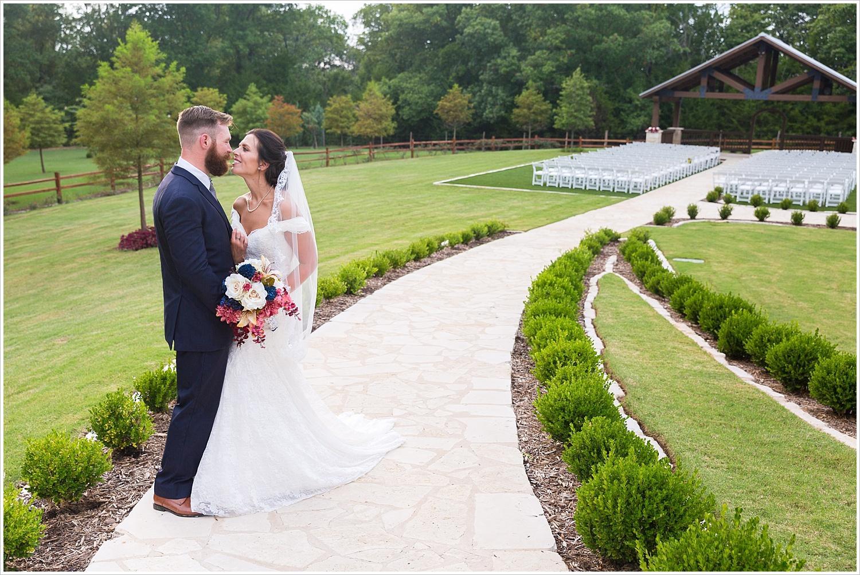 Bride and groom portraits,summer blush and navy wedding at Stone Hall at The Springs in McKinney, Texas, Jason & Melaina Photography, www.jasonandmelaina.com