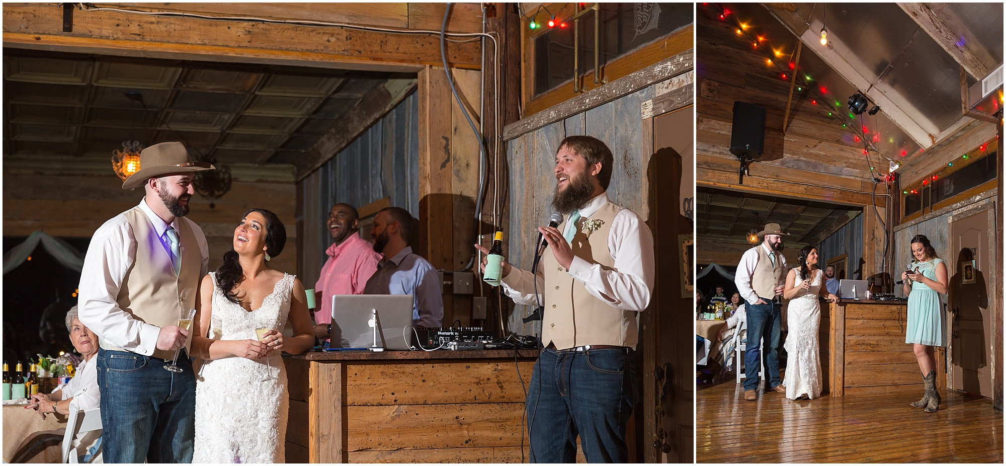 Reception at Peacock River Ranch in Gatesville, Texas - Jason & Melaina Photography