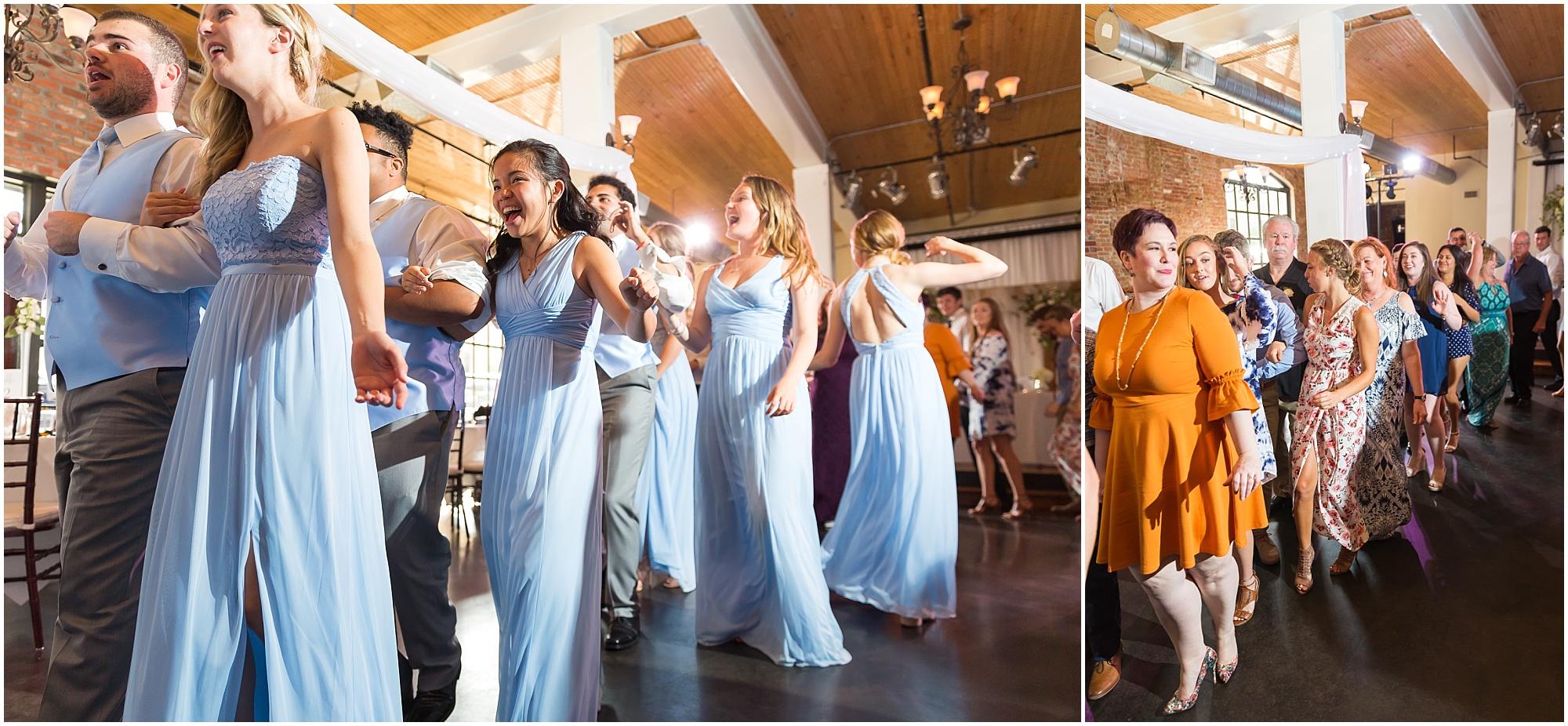 Downtown warehouse wedding in Waco, Texas - www.jasonandmelaina.com