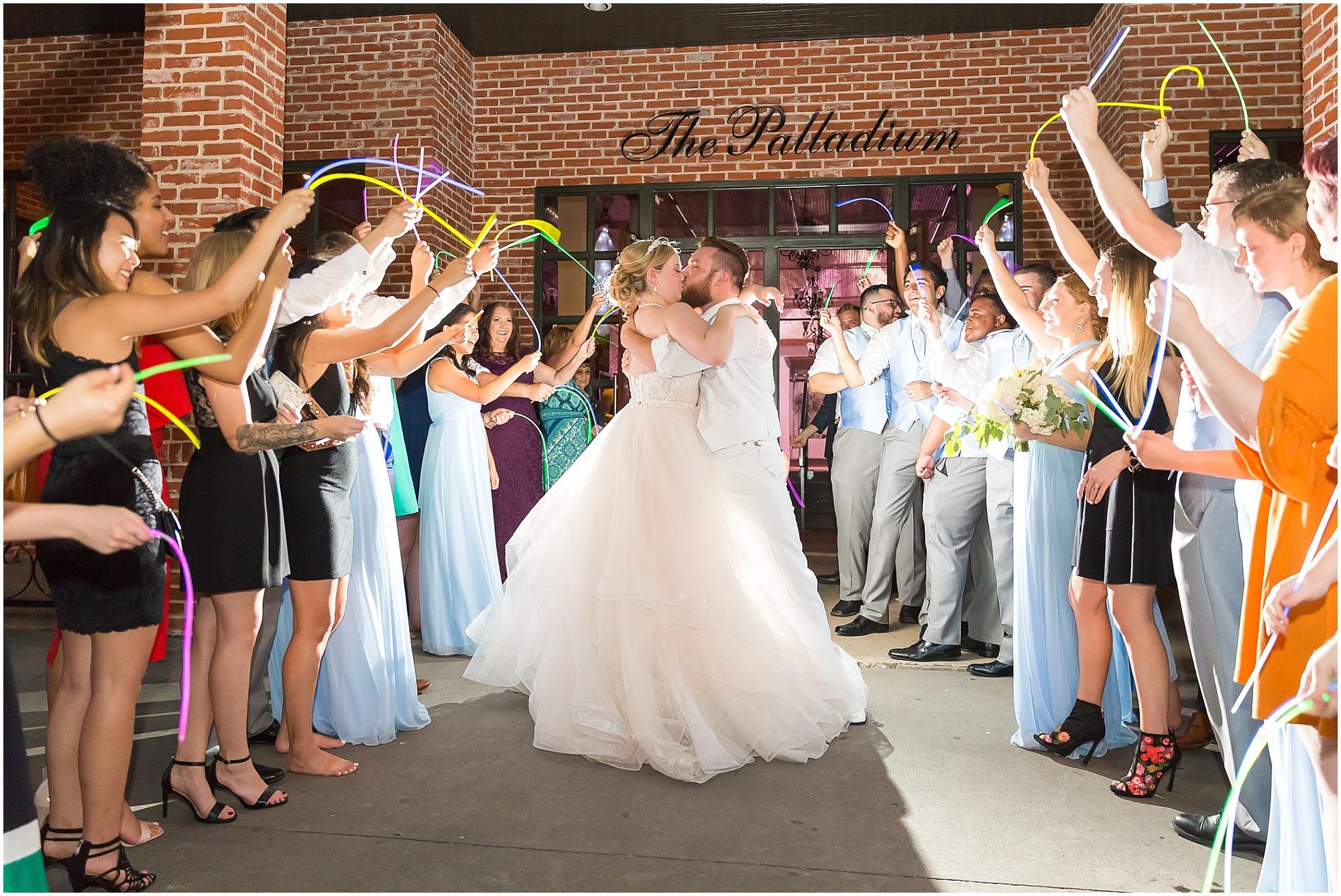 Wedding at The Palladium in downtown Waco - www.jasonandmelaina.com