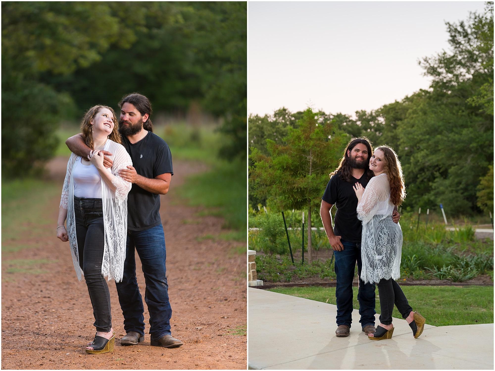 Lick Creek Park Engagement Photos, College Station - Jason & Melaina Photography - www.jasonandmelaina.com