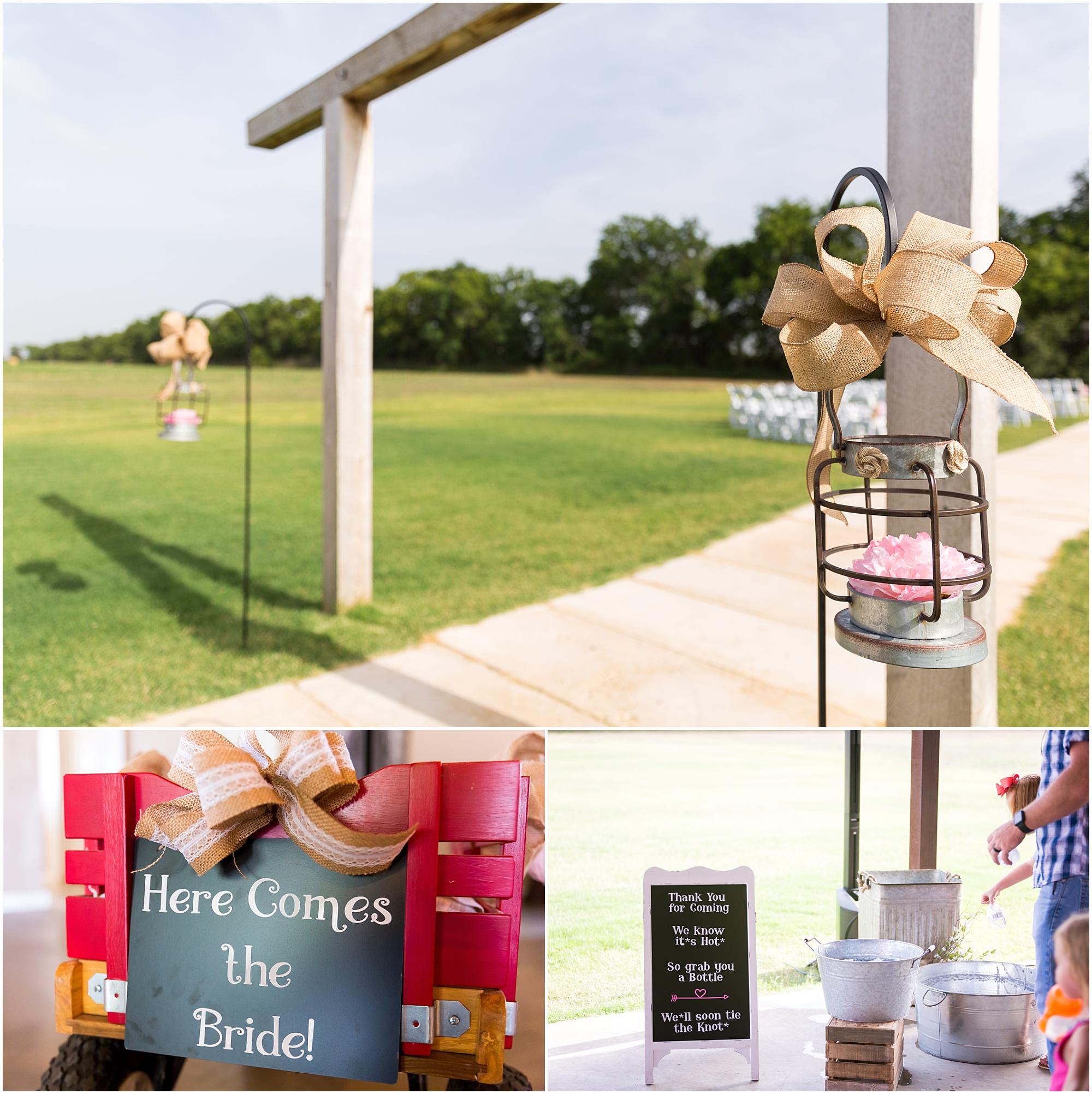 Details for a summer outdoor rustic wedding - Jason & Melaina Photography - www.jasonandmelaina.com