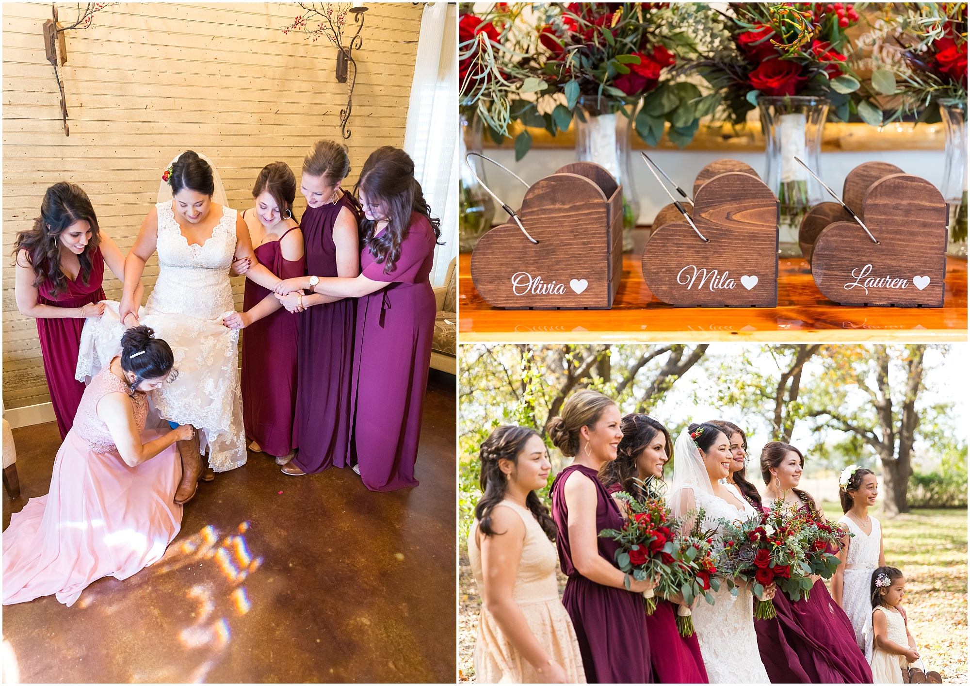 Fall wedding- Dove Creek Ranch in Dublin, Texas - Jason & Melaina Photography - www.jasonandmelaina.com