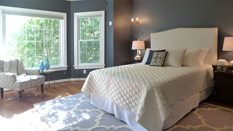 home staging washington dc bedroom