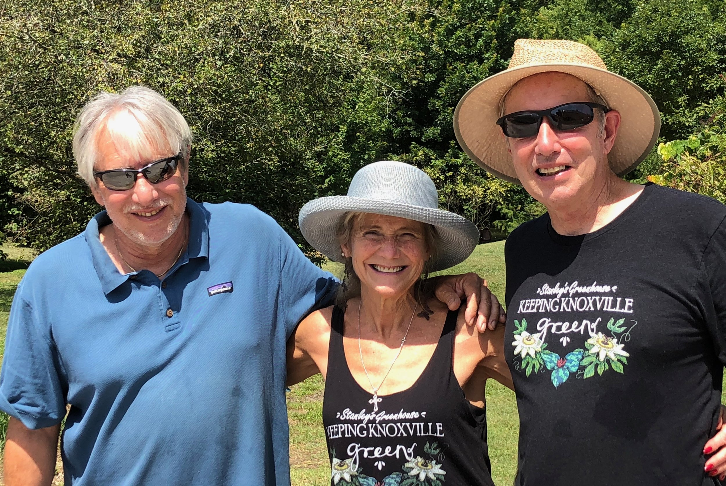 Rocky, Lisa, and Monte at butterfly festival August 2019.jpeg